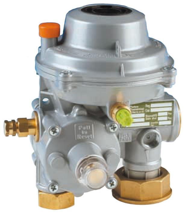 Регулятор давления блочный Казанцева, Q = 4800 куб м/час