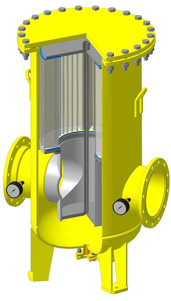 Фильтр газовый ФГПК